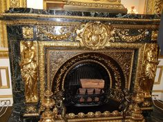 Fireplace, Lancaster House, London by Cathieo, via Flickr