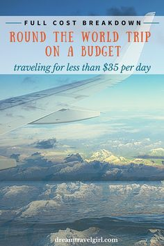How much did my round the world trip cost? Here I share my total expenses traveling on a budget and how I did it. In addition, I at the end I give a few tips to make it even cheaper!