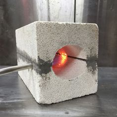 "Picture of How to make a Mini Forge. Steve Kubien: ""This is how I have forged the tools for my pole lathe (and a couple of other small things)."""