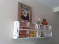Decoração com caixotes de madeira! - VilaClub