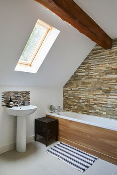 Bathroom in sef build By Potton, Self-Build Specialists Cottage House Designs, Country House Design, Cottage Style Homes, Self Build Houses, Home Budget, Timber Frame Homes, Bespoke Design, Case Study, The Help