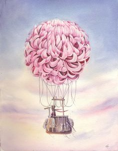 Image of Chrysanthemum air balloon