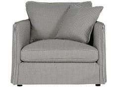 Shop for Bernhardt Interiors Slipcovered Chair 1/2, N7293, and other Living Room Chair and a Half at Stacy Furniture in Grapevine, Allen, Plano, TX. Fabric Shown: 2265-011. Pillow Fabric Shown: 2265-011. Pillows: (1) Blendown Back pillow - knife edge with flange. (1) Feather Down Blend throw pillow - knife edge with flange - 21'' x 21''.