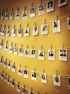 Coworking Conference 2012 Paris - Members Wall #coworking #inspiration - Do we want to publicize our members?