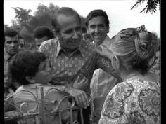 Carlos Andrés Pérez en campaña por el Estado Zulia. Venezuela 1973