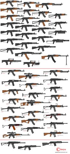 AK pattern firearms [ EgozTactical.com ] #firearms #tactical #survival