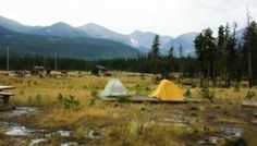 All About Camping in Rocky Mountain National Park