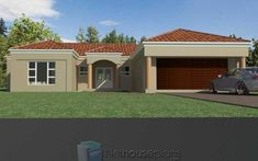 5 Bedroom Single Storey House Plan For Sale NethouseplansNethouseplans Brick House Plans, Large House Plans, Double Storey House Plans, Tuscan House Plans, House Plans For Sale, Open Floor House Plans, Porch House Plans, House Plans With Photos, Basement House Plans
