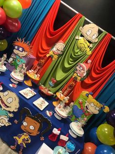 What An Excellent Rugrats Display Twin First Birthday Baby 2nd Parties