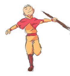 Aang. Avatar the Last Airbender.
