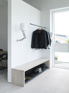 Completed by @vippdotcom, this New York style loft completely restored from its original state and located in Copenhagen, it's the home of Vipp's chief designer, Morten Bo Jensen #wardrobe