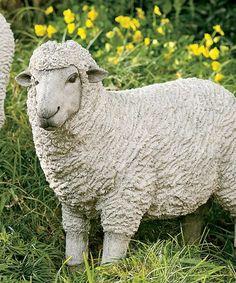 Another great find on #zulily! Sheep Statue #zulilyfinds