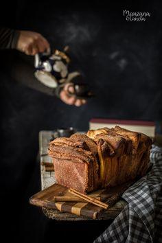Pull appart bread. Pan dulce de canela. Receta con y sin Thermomix.