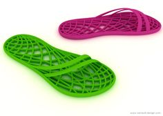 Spa slippers by Vaclavik Design