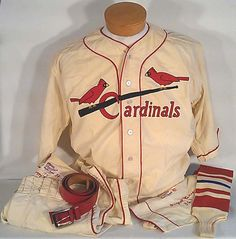 Vintage St. Louis Cardinals Baseball Uniform