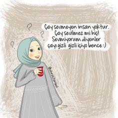 Çay içemeyenler çayı ŞEKERSİZ denesin asıl o zaman çay oluveriyor Girl Humor, Emoji, Positive Quotes, Bff, Islam, My Love, Funny, Anime, Quote