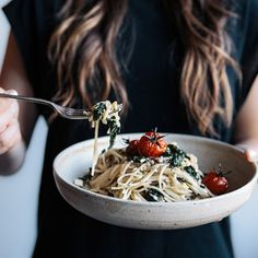 Roasted Tomato, Basil & Feta Gluten Free Pasta - Light, fresh and seriously yum, this pasta dish is a family favorite!
