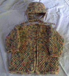 Tunisian Crochet Sweater