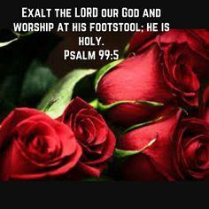 Psalms 99:5