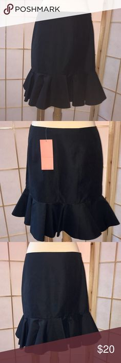 Sinclair 10 Black Skirt NWT. Flawless Condition! Sinclair 10 Black Skirt NWT. Flawless Condition!  Purchased at Saks. Sinclaire 10 Skirts