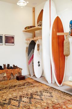 Home Decoration Ideas Storage .Home Decoration Ideas Storage Decoration Surf, Surf Decor, Surfboard Decor, My New Room, My Room, Surfboard Storage, Home Interior, Interior Design, Surf Room