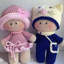 Resultado de imagen para muñecas tejidas a crochet paso a paso