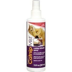 Smarty Catnip Mist Catnip-Infused Spray 7FZ (Pack of 8) >>> Discover this special cat product, click the image : A - N - I - M - A - L - S ~~ PINS FRIENDS