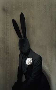 Black Rabbit from the Vernal Hoodoo show, photographed by Matthu Placek