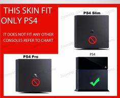 PS4 Playstation 4 Console Skin Decal Sticker Destiny Rise Of Iron Custom Design