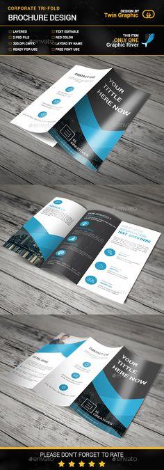 Brochure Layout, Brochure Template, Business Flyer Templates, Business Card Design, Flyer Design, Branding Design, Folders, Brochure Design Inspiration, Corporate