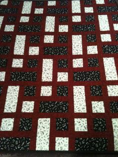 A Melodious Blend Of Red Black and White by WrappingYouInWarmth, $97.00