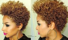 "22 Irresistible Tapered Afro Hairstyles That Make You Say ""Wow!"" : CircleTrest"