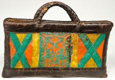 rural women's bag, bavaria, 19th c