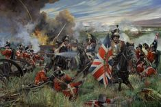 Battle Of Waterloo 1815 Painting Related Keywords & Suggestions . Waterloo 1815, Battle Of Waterloo, Military Art, Military History, Le Colonel Chabert, Bataille De Waterloo, Military Drawings, War Of 1812, French Army