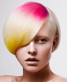 24 Colorful Hairstyles to Inspire Your Next Dye Job via Brit + Co.