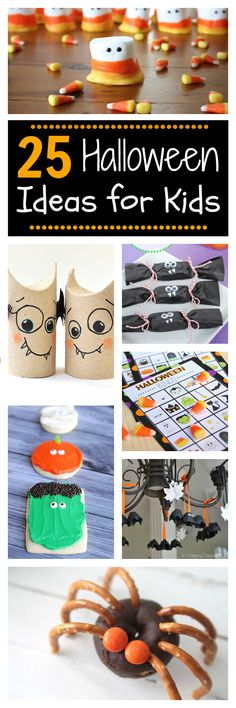 25 Fun Ideas for Kids this Halloween: Crafts, Treats and Activities. I like the Halloween bingo for class party Halloween Class Party, Halloween Crafts For Kids, Halloween Activities, Spooky Halloween, Holidays Halloween, Halloween Treats, Holiday Crafts, Holiday Fun, Happy Halloween