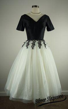 Vestido de ventana trasera  50s inspiradoo