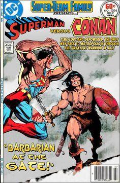 Super-Team Family: The Lost Issues!: Superman Vs. Conan