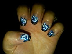 NYG NAILS! awesome to the extreme....