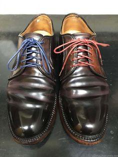 靴バカ.com 靴紐を染める alden990 Men Dress, Dress Shoes, Derby, Shoe Boots, Oxford Shoes, Lace Up, Trends, Fashion, Moda