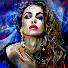Hope you like it.              Ovab.art /Portrait 345