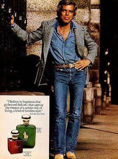 Ralph Lauren Fragrances Lauren for Women Polo for Men 1979 Ad