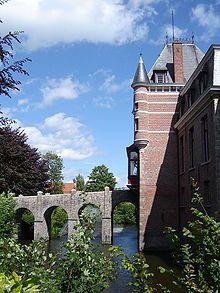 Kasteel van Moerkerke, West-Vlaanderen