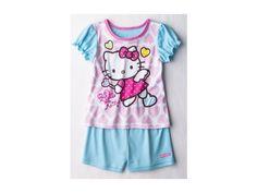 Sanrio Hello Kitty Toddler Girls' 2-Piece Shorts Pajama Set - Pink 4T