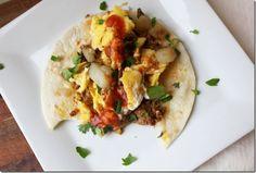 Homemade Chorizo Breakfast Tacos