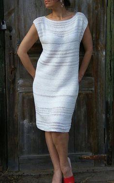 White Summer Dress Mother Bride Dress Formal Pencil Dress