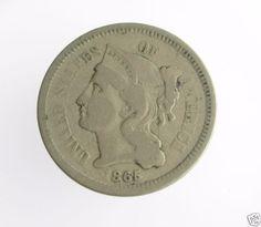 1865-3C-THREE-CENT-NICKEL-PIECE