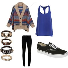 Cute school outfit for fall.