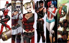 Harley's different styles