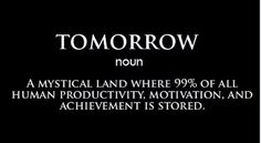 Know #procrastination?